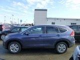 2013 Twilight Blue Metallic Honda CR-V EX-L AWD #74308216