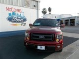 2013 Ruby Red Metallic Ford F150 FX2 SuperCrew #74307577