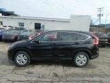 2013 Crystal Black Pearl Honda CR-V EX AWD #74308208