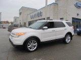 2011 White Platinum Tri-Coat Ford Explorer Limited 4WD #74307823