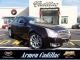 2009 Black Cherry Cadillac CTS 4 AWD Sedan #74307437