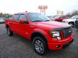 2011 Race Red Ford F150 FX4 SuperCrew 4x4 #74308199