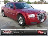 2008 Inferno Red Crystal Pearl Chrysler 300 LX #74307802