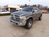 2012 Mineral Gray Metallic Dodge Ram 1500 Laramie Crew Cab 4x4 #74308046
