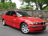 2005 Electric Red BMW 3 Series 325i Sedan #734121