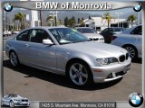 2006 Titanium Silver Metallic BMW 3 Series 325i Coupe #74307892