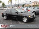 2005 Jet Black BMW 3 Series 325i Sedan #74307891