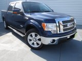 2011 Dark Blue Pearl Metallic Ford F150 Lariat SuperCrew #74307879