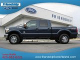 2013 Blue Jeans Metallic Ford F250 Super Duty XLT Crew Cab 4x4 #74307645
