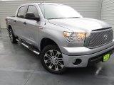 2013 Silver Sky Metallic Toyota Tundra Texas Edition CrewMax #74307875