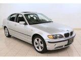 2005 Titanium Silver Metallic BMW 3 Series 330xi Sedan #74308146