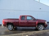 Deep Ruby Metallic Chevrolet Silverado 1500 in 2013