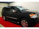 2012 Galaxy Black Nissan Armada Platinum #74307757