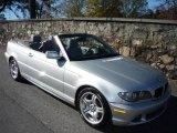 2005 Titanium Silver Metallic BMW 3 Series 330i Convertible #734146