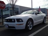 2007 Performance White Ford Mustang GT Premium Coupe #74308249