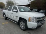 2011 Summit White Chevrolet Silverado 1500 LT Texas Edition Crew Cab 4x4 #74307617