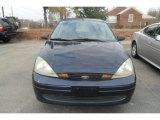 2003 Twilight Blue Metallic Ford Focus SE Sedan #74308122