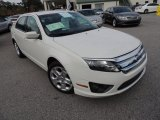 2010 White Suede Ford Fusion SE V6 #74307989