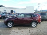 2013 Basque Red Pearl II Honda CR-V EX AWD #74308228