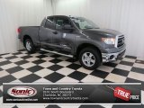 2011 Magnetic Gray Metallic Toyota Tundra SR5 Double Cab 4x4 #74308110