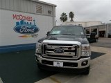 2013 Blue Jeans Metallic Ford F250 Super Duty Lariat Crew Cab 4x4 #74307594