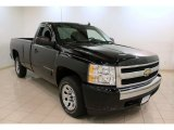 2008 Black Chevrolet Silverado 1500 LS Regular Cab #74369292