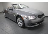 2013 Space Gray Metallic BMW 3 Series 328i Convertible #74369164