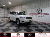 2010 Blizzard White Pearl Toyota Highlander  #74368742