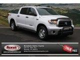 2010 Super White Toyota Tundra CrewMax 4x4 #74368619