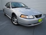 2000 Silver Metallic Ford Mustang V6 Convertible #74369004