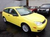 2005 Ford Focus Egg Yolk Yellow