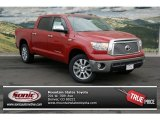 2013 Barcelona Red Metallic Toyota Tundra Platinum CrewMax 4x4 #74368611