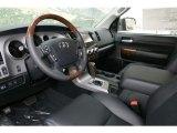 2013 Toyota Tundra Platinum CrewMax 4x4 Black Interior