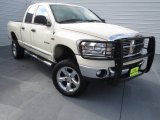 2008 Cool Vanilla White Dodge Ram 1500 Lone Star Edition Quad Cab 4x4 #74369000
