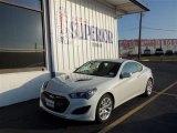 2013 White Satin Pearl Hyundai Genesis Coupe 2.0T #74368720