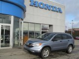 2010 Glacier Blue Metallic Honda CR-V EX AWD #74368835
