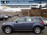 2013 Atlantis Blue Metallic Chevrolet Equinox LS AWD #74369502