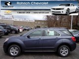 2013 Atlantis Blue Metallic Chevrolet Equinox LS #74369501