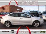 2013 Bright Silver Metallic Dodge Dart Limited #74368697