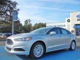 2013 Ingot Silver Metallic Ford Fusion Hybrid SE #74368814