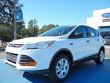 2013 Oxford White Ford Escape S #74368812