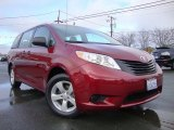 2012 Salsa Red Pearl Toyota Sienna  #74369236