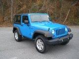 2012 Jeep Wrangler Cosmos Blue