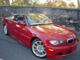 2005 Imola Red BMW 3 Series 330i Convertible #734161