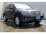 2013 Crystal Black Pearl Honda CR-V EX-L AWD #74368952