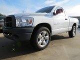 2007 Bright White Dodge Ram 1500 ST Regular Cab #74369357