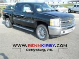 2013 Fairway Metallic Chevrolet Silverado 1500 LT Crew Cab 4x4 #74369213