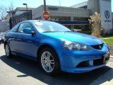 2006 Vivid Blue Pearl Acura RSX Sports Coupe #7434593