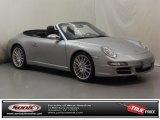 2007 GT Silver Metallic Porsche 911 Carrera S Cabriolet #74369071