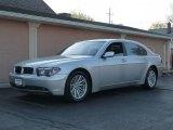 2003 Titanium Silver Metallic BMW 7 Series 745Li Sedan #7437310